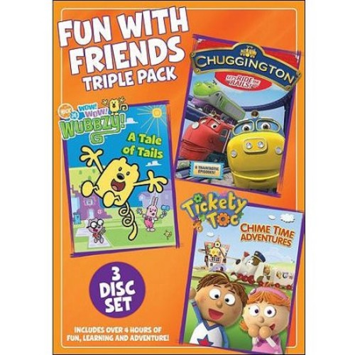 Fun With Friends Triple Pack: Chuggington: Let's Ride The Rails / Tickety Toc: Chime Time Adventures / Wow! Wow! Wubbzy!: A Tale Of Tails