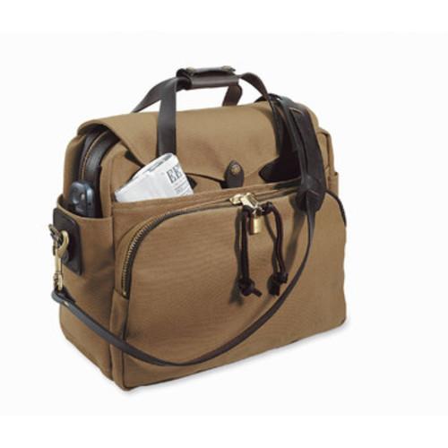 Filson Twill Padded Laptop Bag, Tan 70258-TN