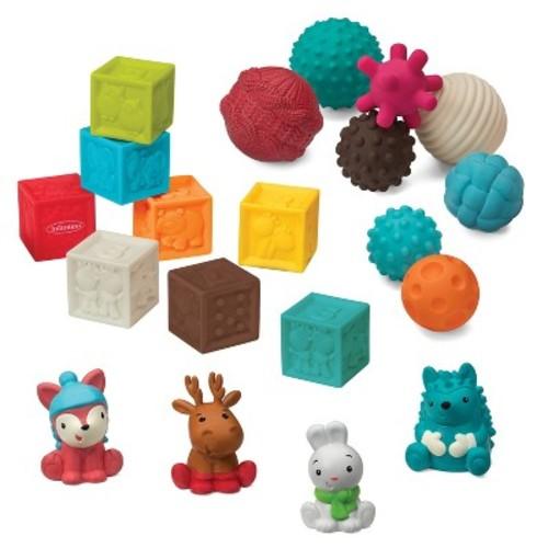 Infantino Go GaGa Balls & Blocks & Buddies Gift Set