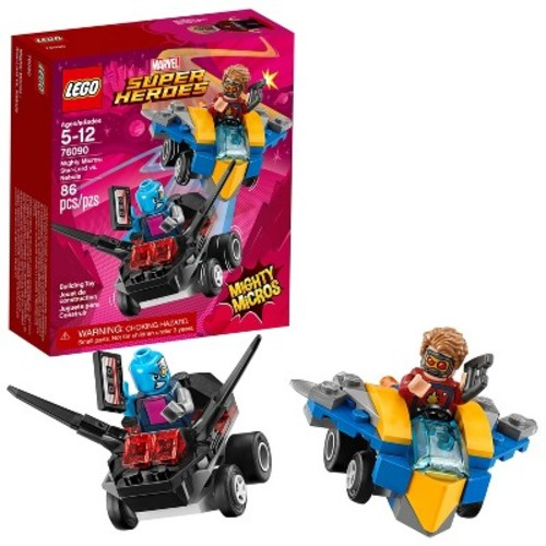 LEGO Super Heroes Marvel Guardians of Mighty Micros: Star-Lord vs. Nebula 76090