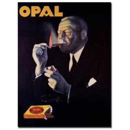 Trademark Fine Art 18 in. x 24 in. Opal Vintage Canvas Art