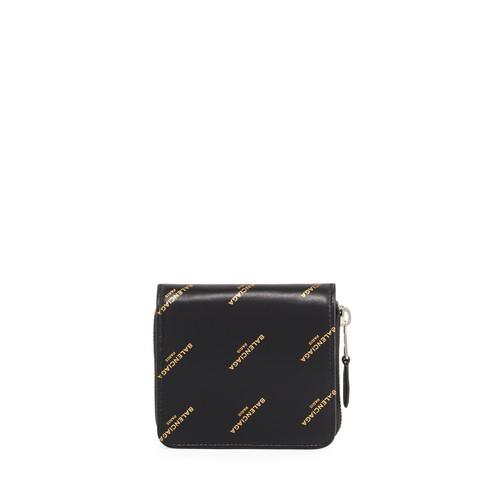 BALENCIAGA Bazar Billfold Zip-Round Wallet
