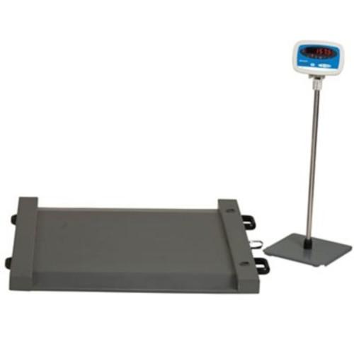 Brecknell Floor Scale, 1,000 lb Capacity