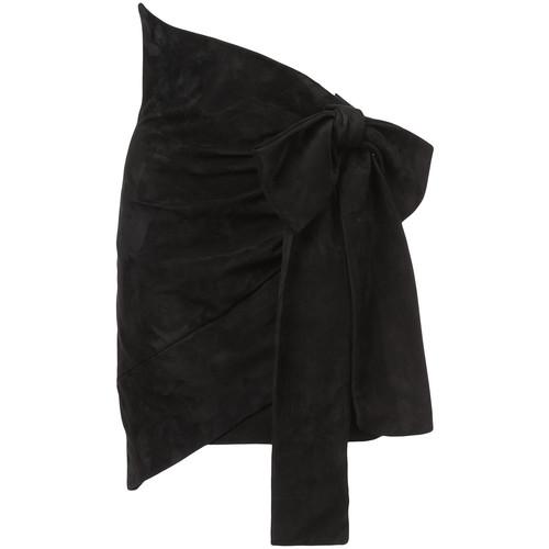 SAINT LAURENT Large Bow Skirt