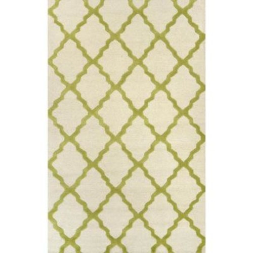 nuLOOM Trellis Lime 7 ft. 6 in. x 9 ft. 6 in. Area Rug