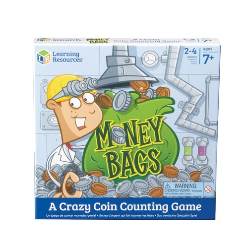 Learning Resources Money Bags Coin Value Board Game