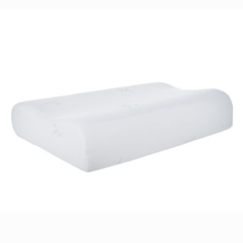 Remedy Contour Gel Memory Foam Pillow in White