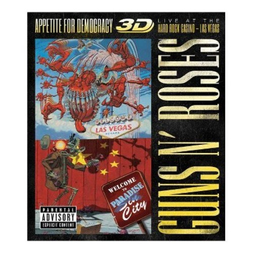 Guns N' Roses: Appetite for Democracy - Live at the Hard Rock Casino Las Vegas [Blu-ray]