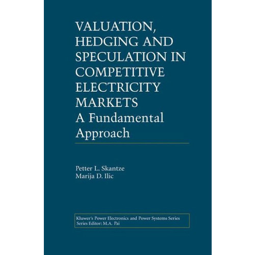 Valuation, Hedging and Speculation in Competitive Electricity Markets: A Fundamental Approach / Edition 1