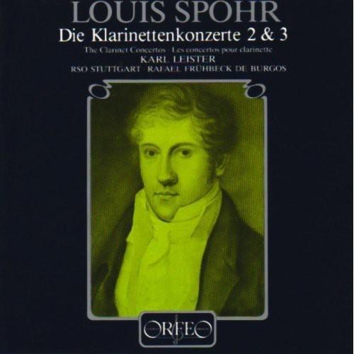 Mozart, Spohr: Clarinet Concertos [CD]
