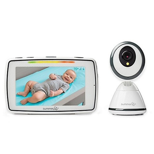 Summer Infant Baby Pixel 5-Inch LCD Touchscreen Color Video Baby Monitor