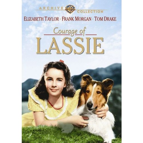 Courage of Lassie [DVD] [1946]
