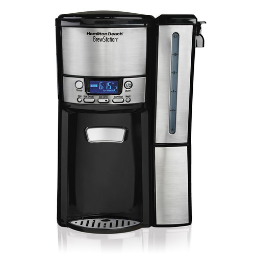 Hamilton Beach Brands Inc. 47950-RB Refurbished 12 CUP COFFEE MAKER PROGRAMMABLE BLACK/STAINLESS STEEL-47950