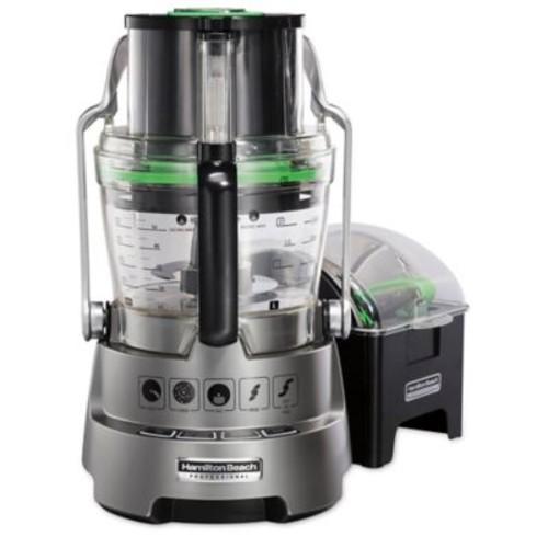 Hamilton Beach Professional 14-Cup Food Processor in Metallic Grey