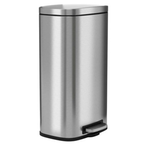 halo Premium Stainless Steel 8-Gallon Step Can