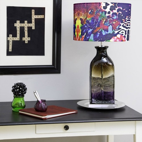 Tracy Porter Roxy Attic Signature Print Hand-Blown Table Lamp