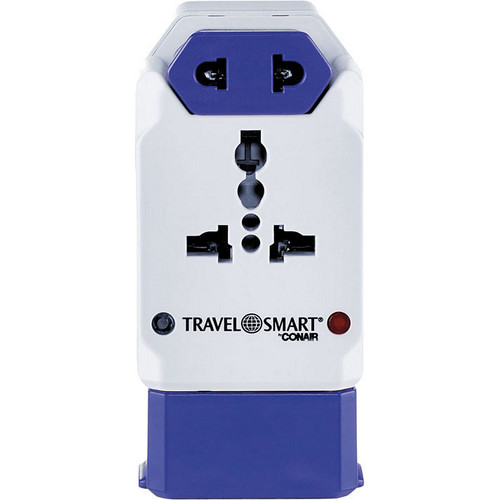 Travel Smart by Conair All-in-One Adapter with USB Port