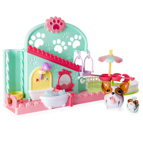 Chubby Puppies and Friends Pet Fun Center Playset