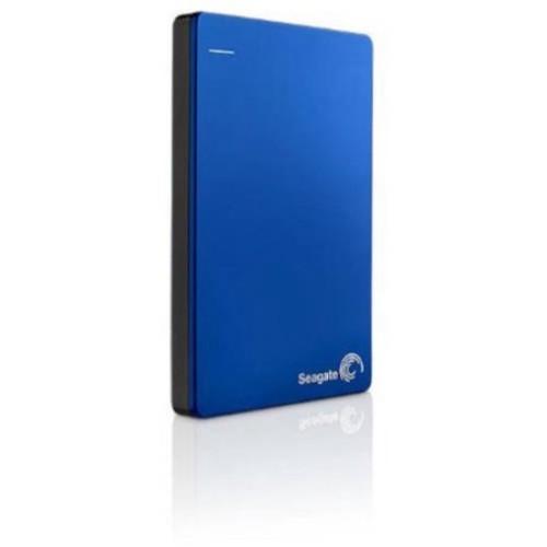 Seagate Backup Plus Slim 1TB Portable External Hard Drive USB 3.0, Blue (STDR1000102)