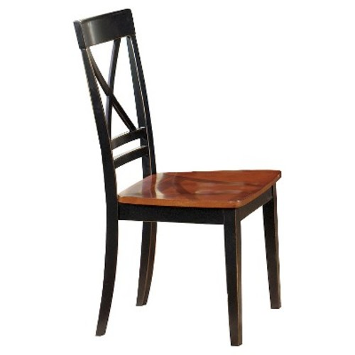 Cosmo Dining Chair - Cherry Black (Set Of 2)