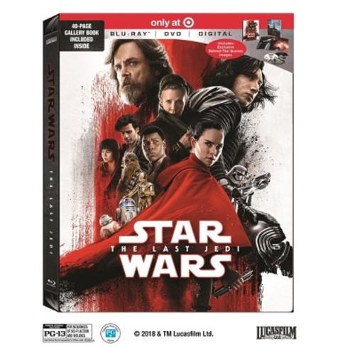 Star Wars: The Last Jedi Target Exclusive (Blu-ray + DVD + Digital)