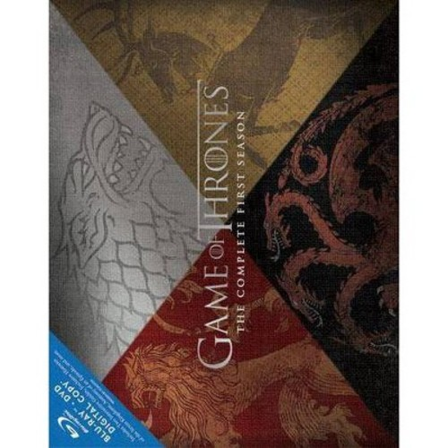 Game of Thrones: The Complete First Season Gift Box [8 Discs] [With Dragon Egg] [Blu-ray/DVD]