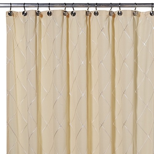 Wellington 72-Inch x 84-Inch Shower Curtain in Yellow