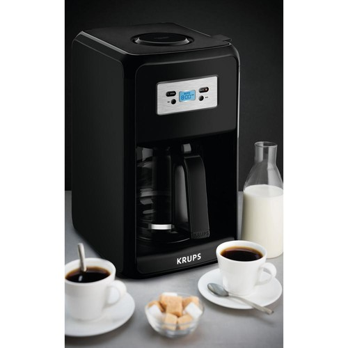 Krups Savoy 12-Cup Pause and Serve Coffee Maker