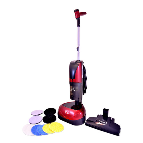 Ewbank EPV1100 3 in 1 Floor Cleaner, Scrubber and Polisher with 680W Cyclonic Bagless HEPA Filter Vac