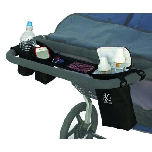 J.L. Childress Double Cooler Double Stroller Console