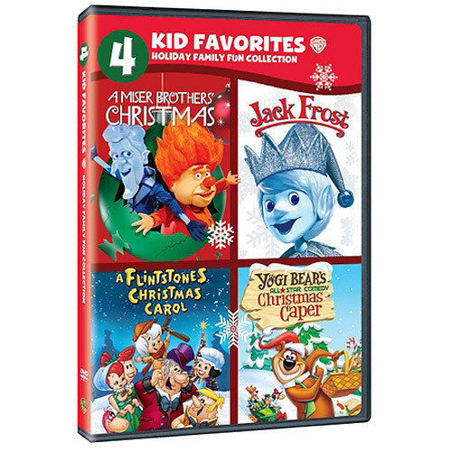 4 Kid Favorites: Holiday Family Fun [DVD]
