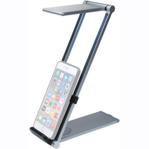Foldable LED Desk Lamp Stand for Tablets and Smartphones