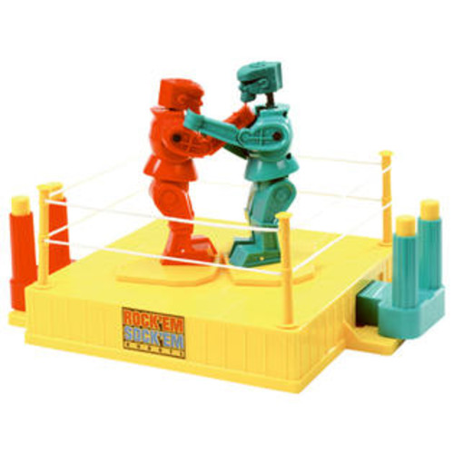 Mattel CCX97 Rock Em Sock Em Robots - Quantity 1