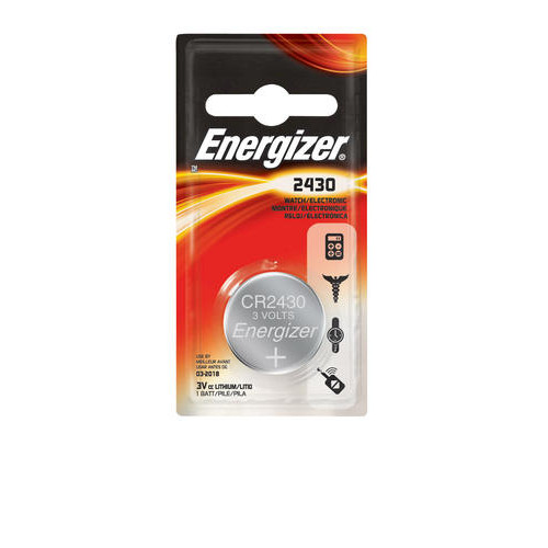 Energizer 3-Volt 2430 Lithium Watch/Electronics Battery