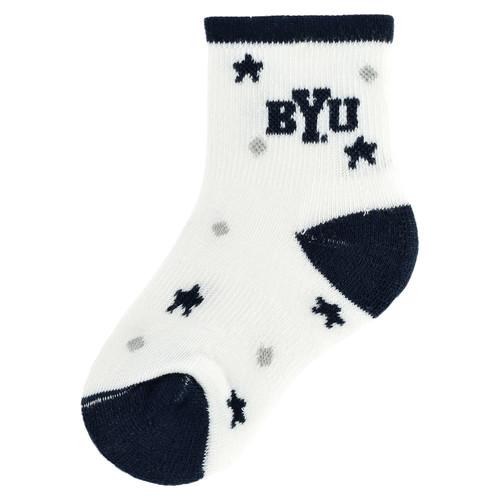 Baby BYU Cougars Socks