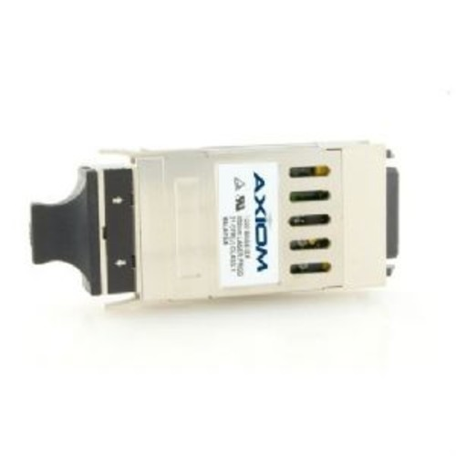Axiom Memory GBIC Transceiver Module  Ethernet 1000BASE-T, RJ-45 Connector, 1Gbps data Transfer Rate, Up to 100m Copper Transmission Support, Plug-in module, Equivalent to 3Com 3CGBIC93 - 3CGBIC93-AX