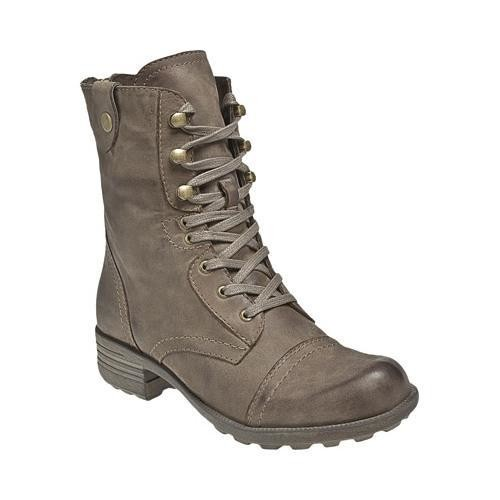Women's Cobb Hill Bethany Boot Stone Full Grain Leather