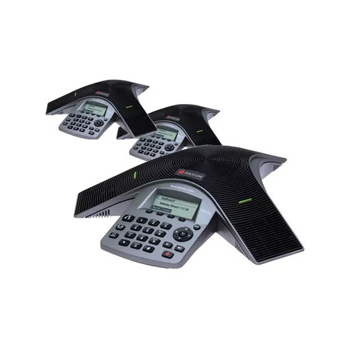 Polycom 2200-19000-001 (3-Pack) SoundStation Duo Dual Mode Conference Phone