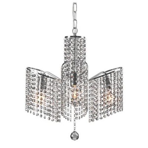 Zuo Keith Ceiling Lamp in Chrome