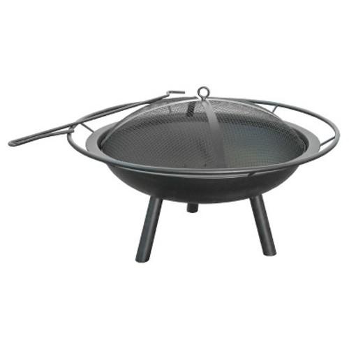 Landmann Halo Fire Pit Steel - Black