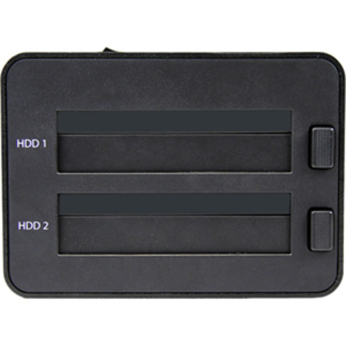 StarTech.com USB 3.0 SATA Hard Drive Duplicator & Eraser Dock - Stand
