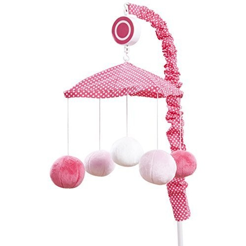 One Grace Place Simplicity Mobile, Hot Pink and White [Hot Pink and White]