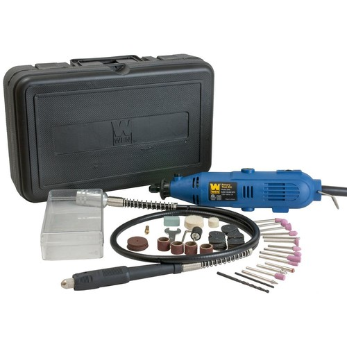 WEN Factory Reconditioned Rotary Tool Kit with Flex Shaft