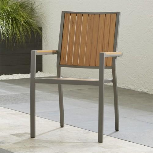 Alfresco II Natural Dining Arm Chair