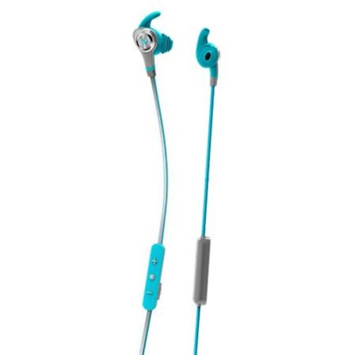 Monster Cable iSport Intensity In-Ear Bluetooth Headphones with Mic, Blue