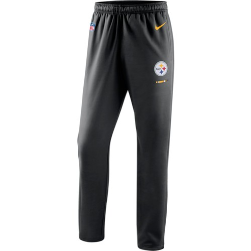 Nike Men's Pittsburgh Steelers Therma-FIT Black Performance Pants