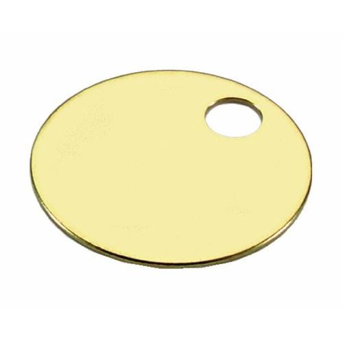 Lucky Line Brass Key Tag - 26013