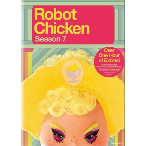 Robot Chicken: The Complete Seventh Season [DVD]