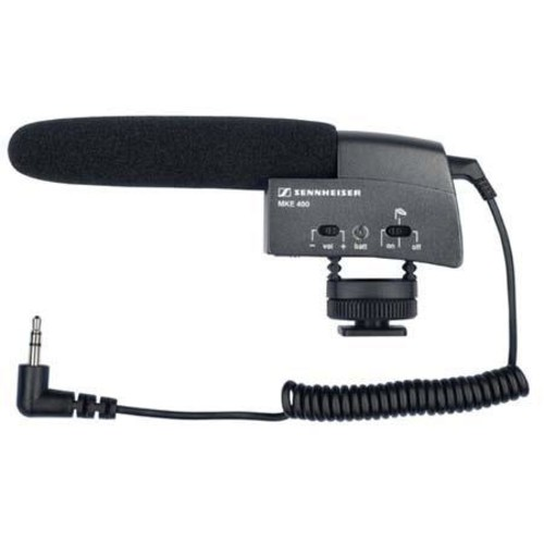 Sennheiser Compact Shotgun Microphone Camera Mountable 502047