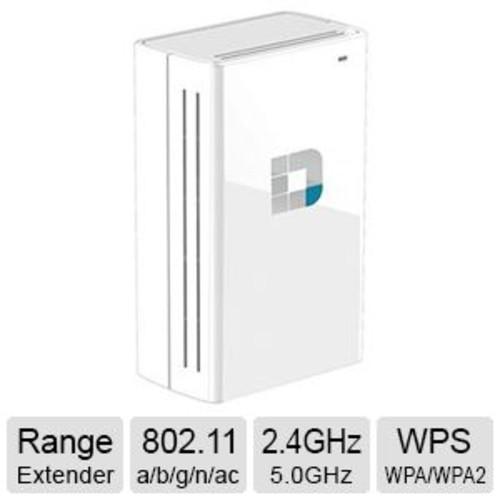 D-Link Wi-Fi Dual Band Range Extender - IEEE 802.11a/b/g/n/ac, 750Mbps, 2.4GHz - 5.0GHz, WPA, WPA2, WPS - DAP-1520 - DAP-1520